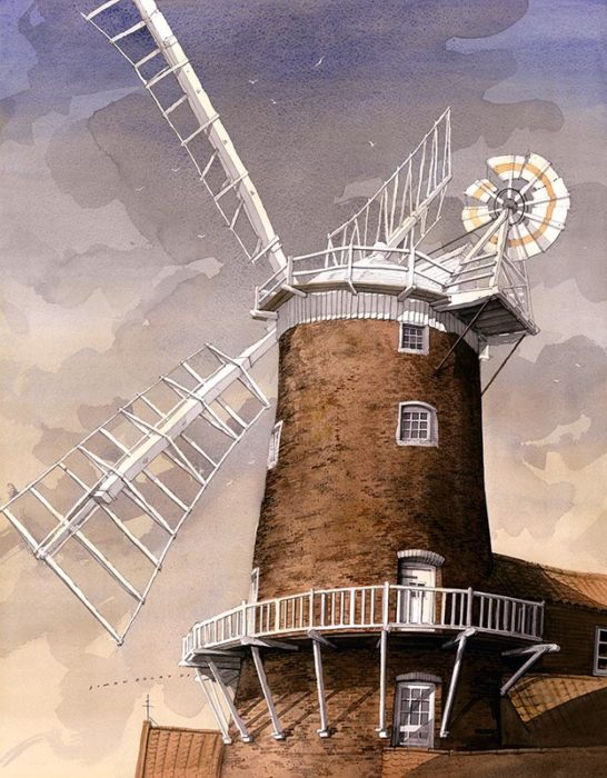 Cley Mill at The Dolby Gallery