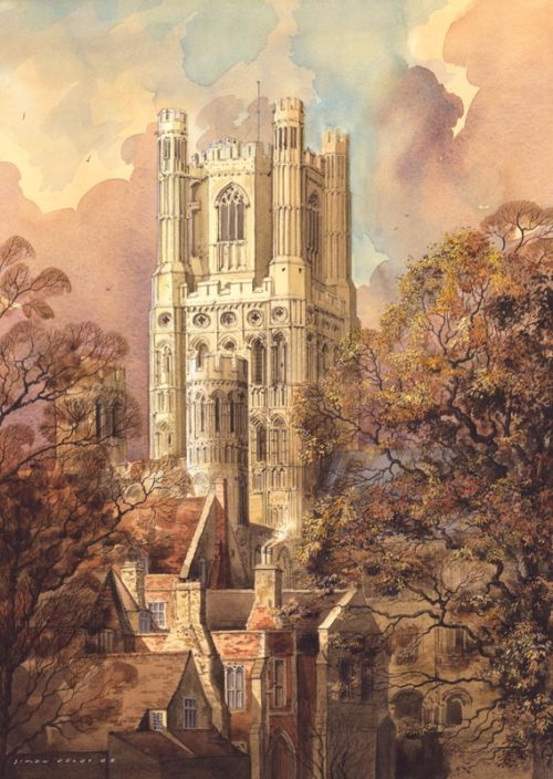 Ely Cathedral by Simon Dolby at The Dolby Gallery Oundle