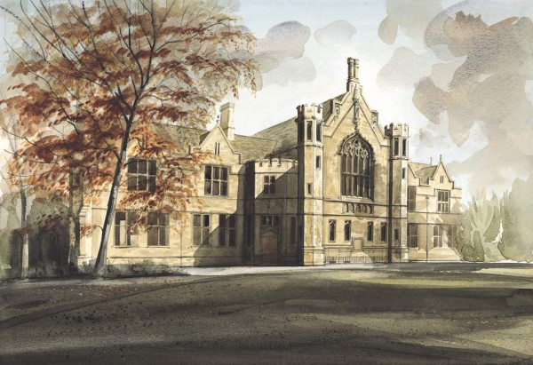 Great Hall, Oundle School by Simon Dolby at The Dolby Gallery
