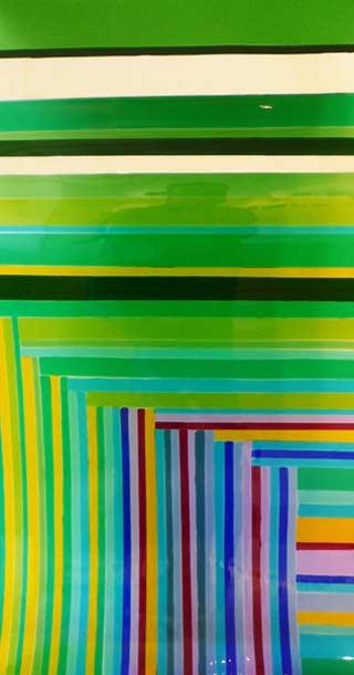 Gunta Krumins - glass panel