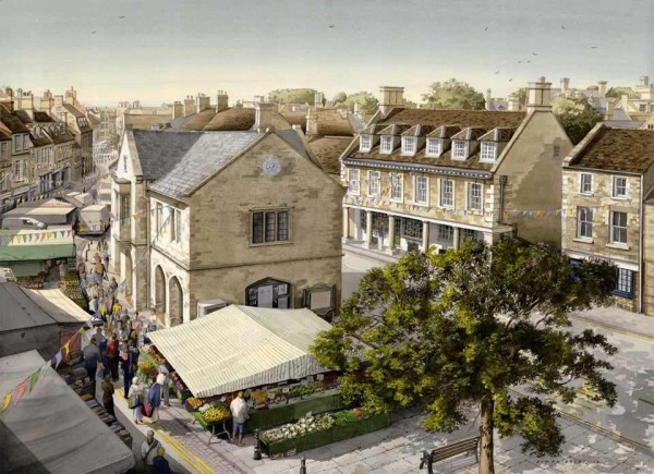 market oundle at the dolby gallery by Simon Dolby