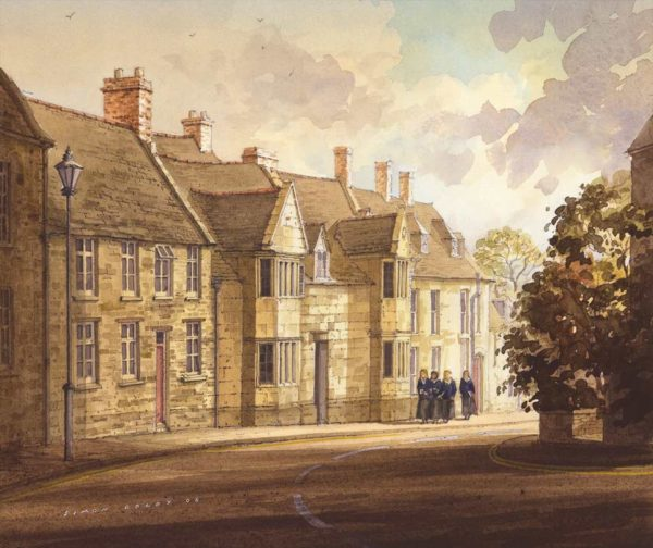 New House, Oundle School by Simon Dolby at The Dolby Gallery Oundle