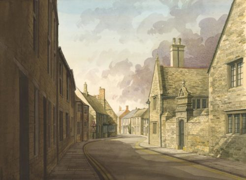North Street Oundle by Simon Dolby at The Dolby Gallery Oundle
