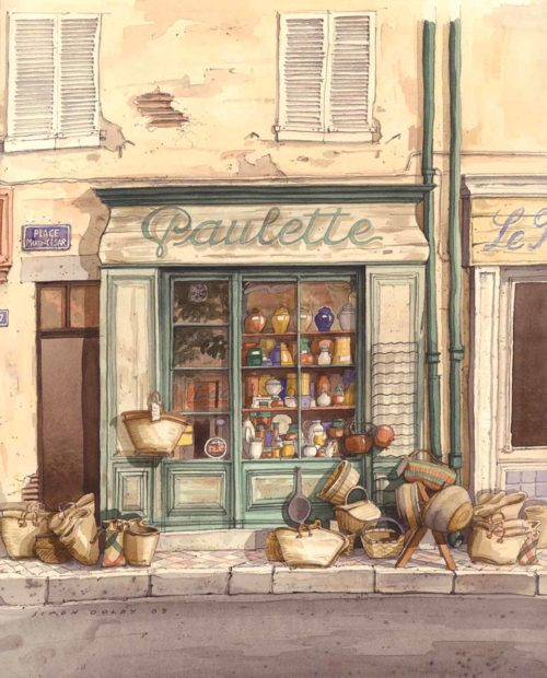 Paulette, Provence, France by Simon Dolby at The Dolby Gallery Oundle