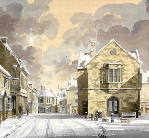 Snowy Oundle at The Dolby Gallery