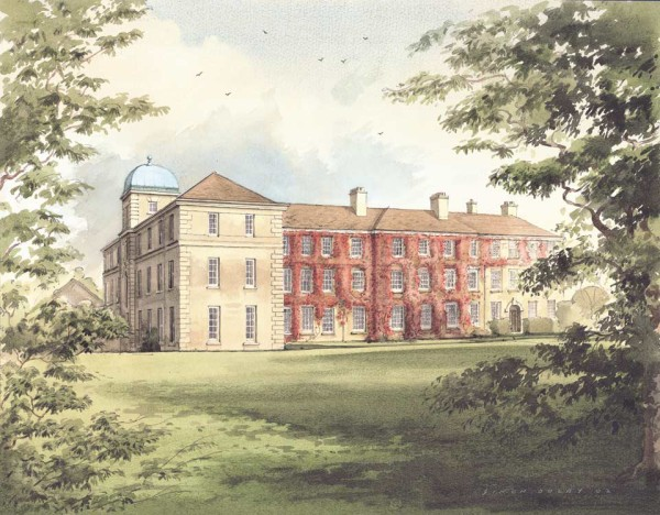 St Anthony House, Oundle School, by Simon Dolby at The Dolby Gallery Oundle