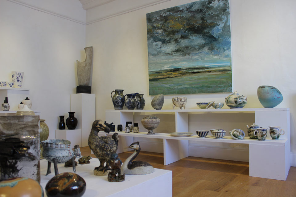 Anglian Potters Selected Members Exhibition 2103 The Dolby Gallery Oundle