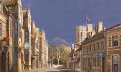 Oundle in Lockdown by Simon Dolby 2020 at The Dolby Gallery Oundle Northamptonshire