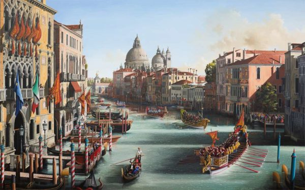 Venice Italy by Simon Dolby at The Dolby Gallery Northamptonshire