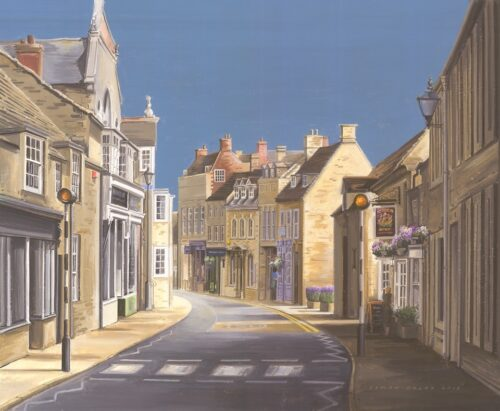 Zebra Crossing West Street Oundle 2018 by Simon Dolby @ The Dolby Gallery Oundle Northamptonshire