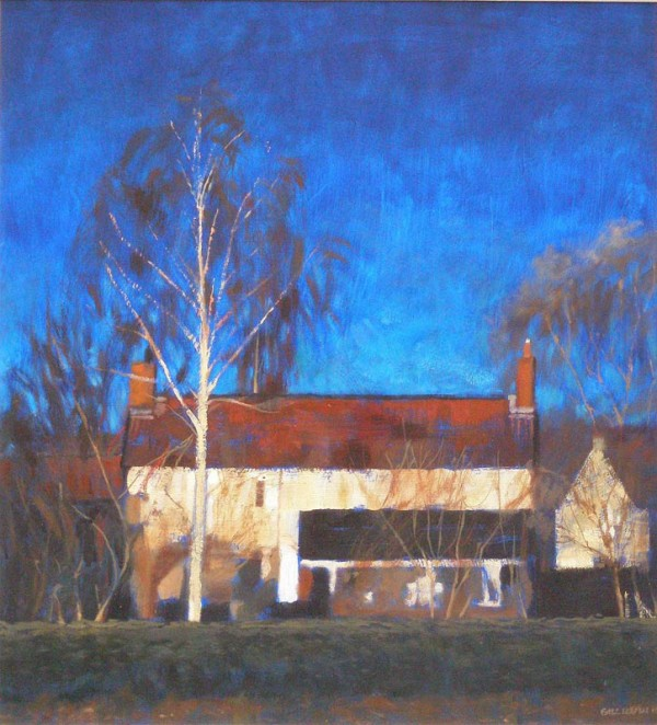 Blue Skies by Gill Levin at The Dolby Gallery Oundle