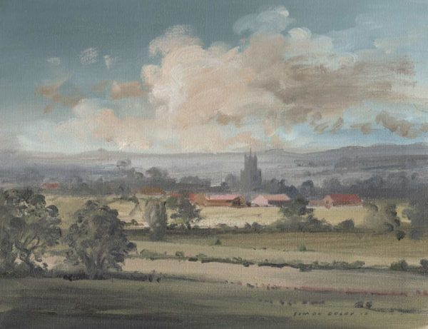 Towards Fotheringhay, Nr Oundle Northamptonshire at The Dolby Gallery Oundle