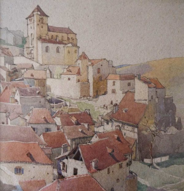 Avignon, France by Averil Burleigh at The Dolby Gallery, Oundle, Northamptonshire