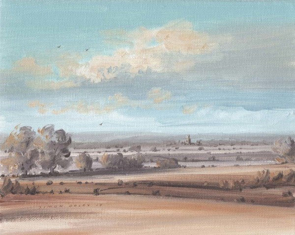 Towards Fotheringhay III 2015 at The Dolby Gallery, Oundle Northamptonshire
