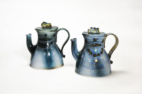 Margaret Gardiner Teapots, Contemporary Ceramics, East Anglia, The Dolby Gallery
